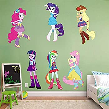 My Little Pony Equestria Girls Decal Wall Sticker Home Decor Art Mural  C835, Large Part 33