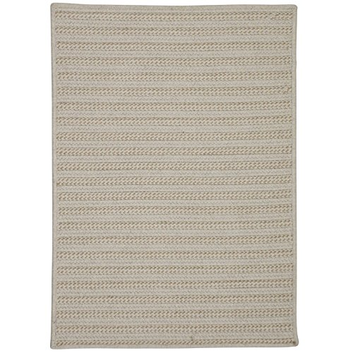Colonial Mills Sunbrella Booth Bay OO89R036X060S Rugs, 3' x 5', Natural Wheat