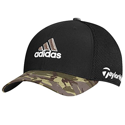 Adidas Tour Tour Mesh Camouflage Fitted Golf Hat, Small/Medium