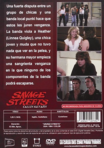 Amazon.com: Savage Streets - Calles Salvajes - Danny ...