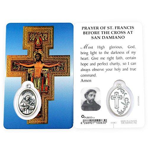 San Damiano Cross Prayer Card