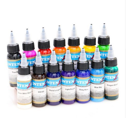 Permanent makeup pigment color tattoo ink kit 14 colors micropigment makeup bloodline tattoo pigment set 30ML SogYupk