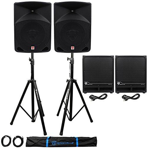 10' Pa Speaker Cabinet ((2) Rockville RPG10 10