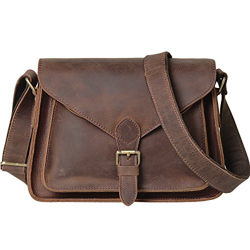 Jack&Chris Genuine Leather Cross Body Handbag Satchel...