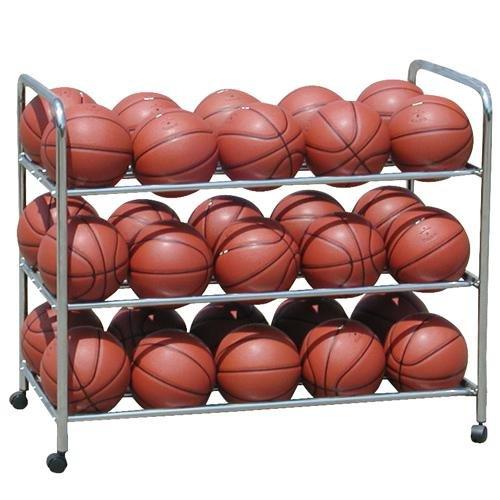 Double Wide Steel Ball Cart by BSN
