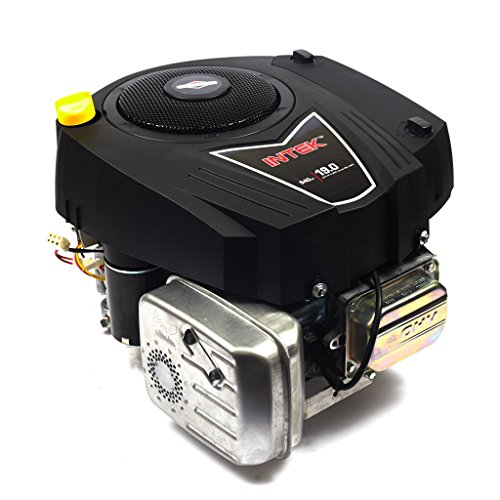 - Briggs & Stratton 33R877-0003-G1 540cc 19 Gross HP Intek Vertical OHV Engine with 1-Inch Diameter by 3-5/32-Inch Length Crankshaft Tapped 7/16-20-Inch