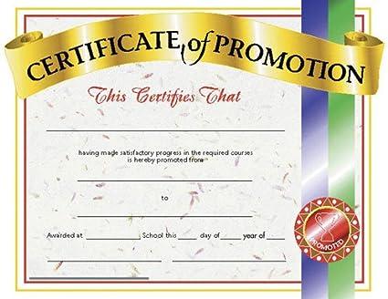 amazon com h va509 certificates of promotion 30 pk toys games