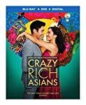 Cover Image for 'Crazy Rich Asians (Blu-ray + DVD + Digital Combo Pack) (BD)'