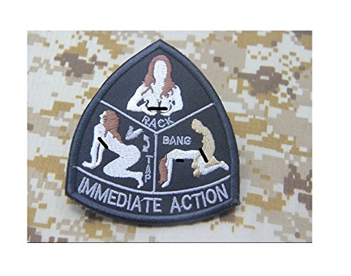 Mil-Spec-Monkey-IMMEDIATE-ACTION-morale-patch-hook-backing-tap-rack-bang