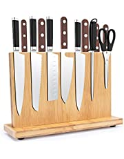 Magnetic Knife Holder,Knife storage organizer shelf rack - with Double Side Powerful Magnet, Knives Holder, Knife Block Cutlery Display Stand (12 inch)