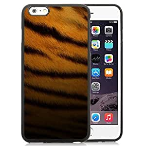 Fashionable Custom Designed iPhone 6 Plus 5.5 Inch Phone Case With Tiger Skin Pattern_Black Phone Case