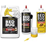 Harris Bed Bug Killer Value Bundle Kit - Diatomaceous Earth Powder, Silica Powder, Toughest Gallon Spray and Powder Duster