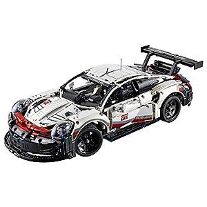 51EF2FkDmhL. SS300  - LEGO Technic Porsche 911 RSR 42096 Race Car Building Set STEM Toy for Boys and Girls Ages 10+ features Porsche Model Car…