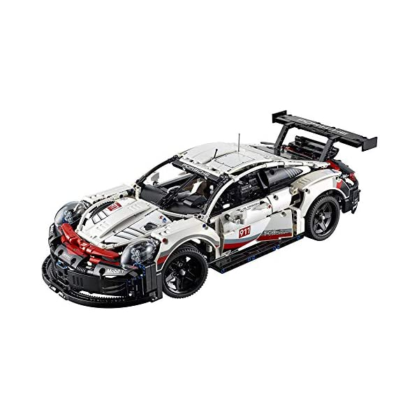 51EF2FkDmhL. SS600  - LEGO Technic Porsche 911 RSR 42096 Race Car Building Set STEM Toy for Boys and Girls Ages 10+ features Porsche Model Car…