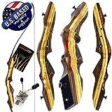 Southwest Archery Tigershark Takedown Recurve Bow - Pro, 50R W/Stringer