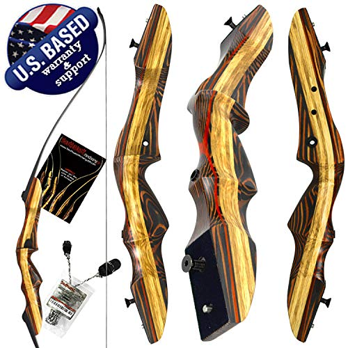 Southwest Archery Tigershark Takedown Recurve Bow - Pro, 25R W/Stringer
