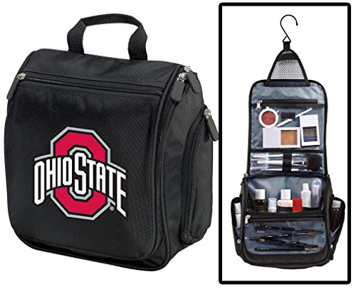 Ohio State University Toiletry Bags Or Hanging OSU Buckeyes Shaving (Ohio State Buckeyes Pocket)