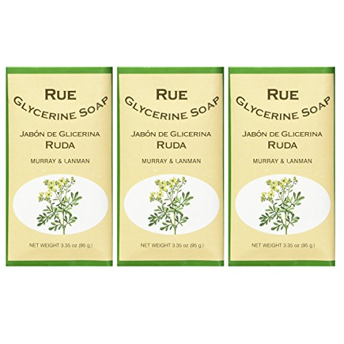 Glycerine Soap Rue by Murray & Lanman 3pk [ALL SEALED] - Import It All