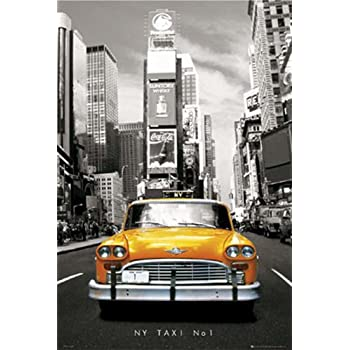 Poster New York Taxi.Amazon Com Gb Eye New York Taxi Poster Prints Posters Prints