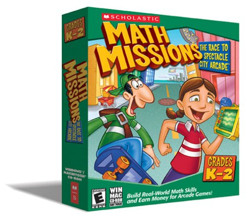 Math Missions: The Race to Spectacle City Arcade Grades K-2  [OLD VERSION]