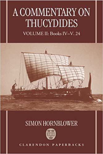 A Commentary on Thucydides: Volume II: Books IV-V. 24: Books 4-5.24 v. 2