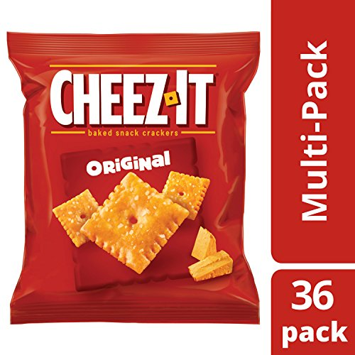 Large Product Image of Cheez-It Original Baked Snack Cheese Crackers, 1.5 Ounce Snack Packs, 36 Count