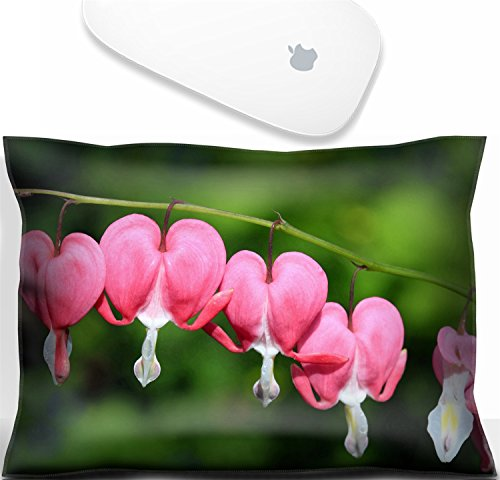 Luxlady Mouse Wrist Rest Office Decor Wrist Supporter Pillow Bleeding heart dicentra a spring and summer flowering perennial herbaceous flower.IMAGE: 27781431