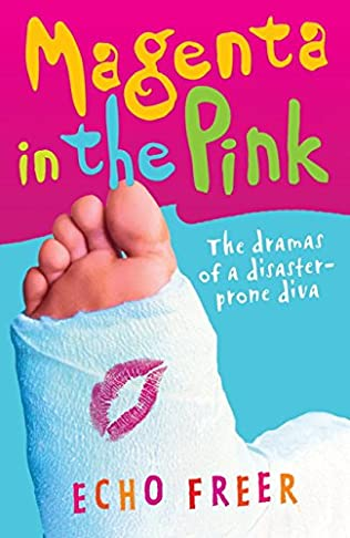 book cover of Magenta in the Pink
