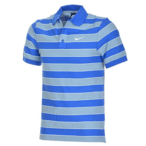 Multicolore Multicolore Multicolore Ray Polo Polo Polo Nike Courtes blanc Coton Manches En shirt T Roi Bleu x8T5rdxw