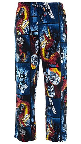 Star Wars Mens' Imperial Battle Cotton Pajama Pants (Imperial Blaster Rifle)