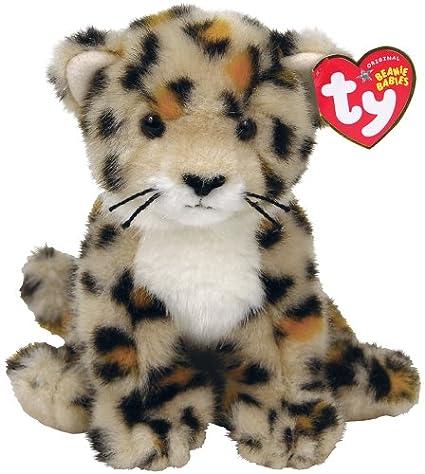 a9a572e74fa Amazon.com  Ty Spotter - Safari Beanies - Leopard Cub  Toys   Games