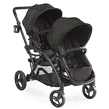 Contours Options Elite Tandem Double Stroller, Carbon (ZT018-CRB1)