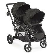 Contours Options Elite Tandem Double Stroller, Carbon
