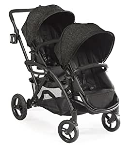 Contours Options Elite Tandem Double Stroller, Carbon