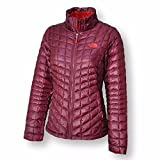 The North Face Womens Thermoball Full Zip Jacket (Deep Garnet Red, X-Large)