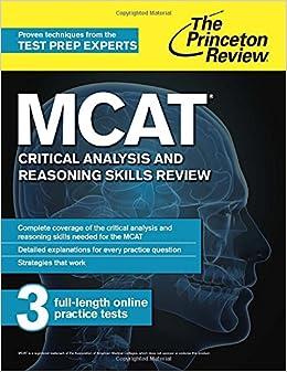 Mcat critical thinking practice skills