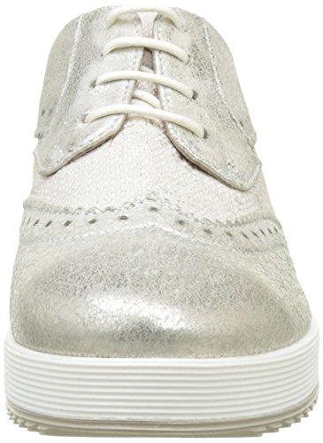 Donna Derby de Sun para Osso Osso Mujer PIU Zapatos Cordones Jutta Argent Lucilla T1wxZTqH