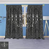 Best Intelligent Design Chandeliers - Twigs Fashion Design Print Thermal Insulated Blackout Curtain Review