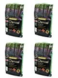 Holland Plastics Original Brand 4 X British Bioregional Charcoal Easy To Light With No Firelighters Required Benefits British Woodland Habitats 3Kg