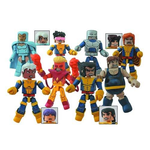 Marvel Minimates Series 60 Mini-Figure Set by Diamond Select - Psylocke Marvel Costume