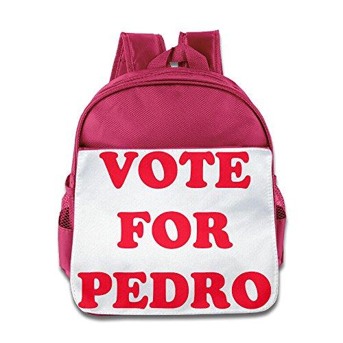 HYRONE Vote For Pedro Logo Kids Schoolbag For 1-6 Years Old (Costune Ideas)