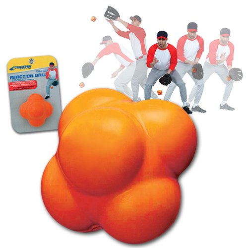 UPC 033586430756, CHAMPRO SPORTS Reaction Ball, Increase Agility & Hand Eye Coordination CBBRB