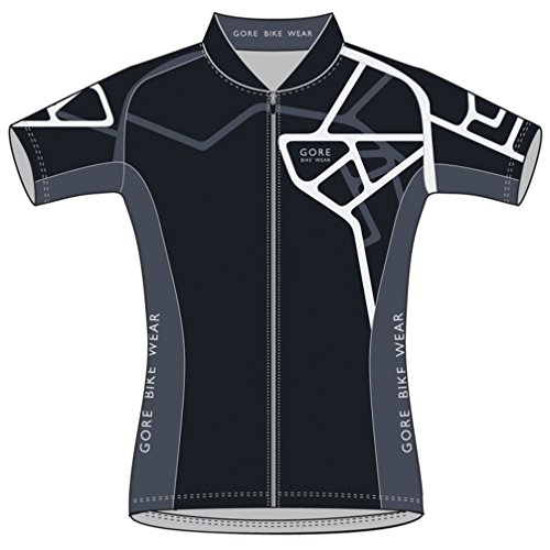 Adrenaline Bicycle - Gore Bike Wear Women's Element Adrenaline Jersey Black/White Small