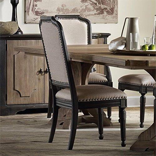 - Hooker Furniture Set of 2 Corsica Upholstered Side Chair 5280-75411