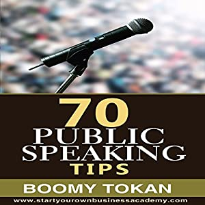 70 Public Speaking Tips Audiobook