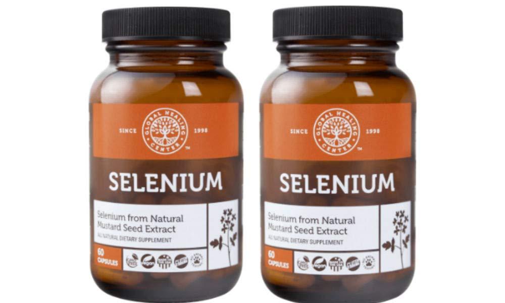Global Healing Center Selenium, 120 Ct, (2 Pack)