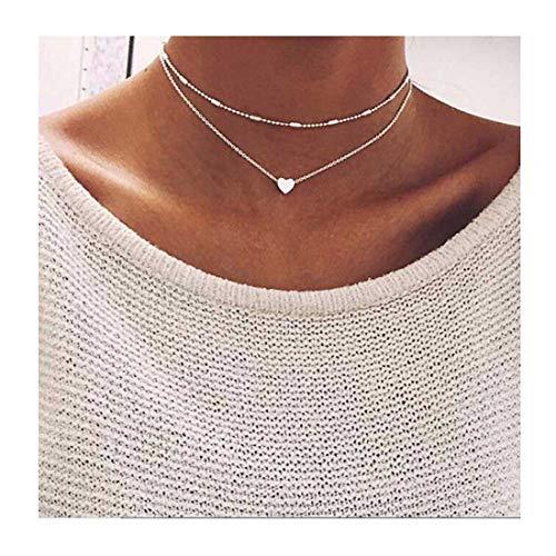 LittleB Simple Double deck Pendant Necklace product image