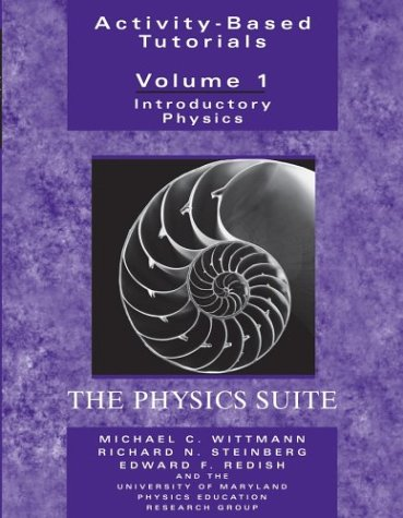 Activity-Based Tutorials: Introductory Physics, The Physics Suite -
