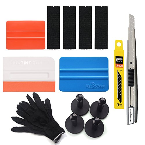 7MO Car Vinyl Wrap Tool Kit for Starter Vinyl Film Installation 1 Set