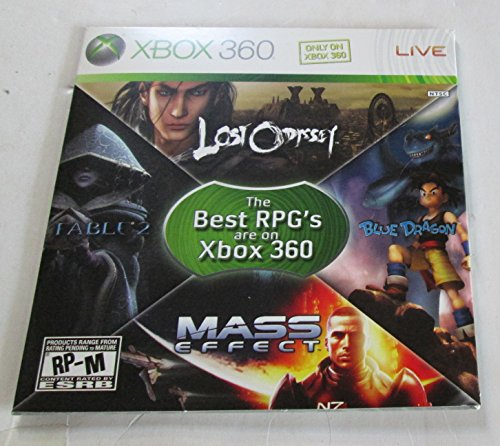 (XBOX360 - The Best RPG's Are On XBOX360 (Promo Slipcase DVD) )